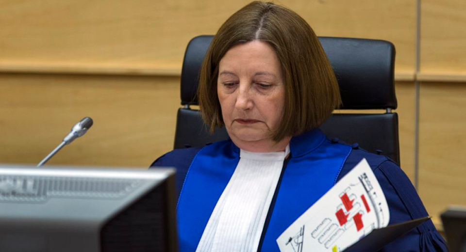 ICC President – Judge Silvia Alejandra Fernández de Gurmendi alleged to have received funds in her bank account to 'buy witnesses for use against Gen Bash