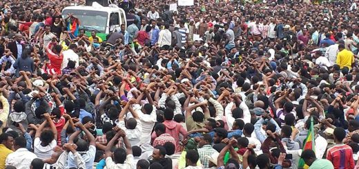 Addis Prepares for a protest rally joining nationwide uprising that calls for an end to tyranny